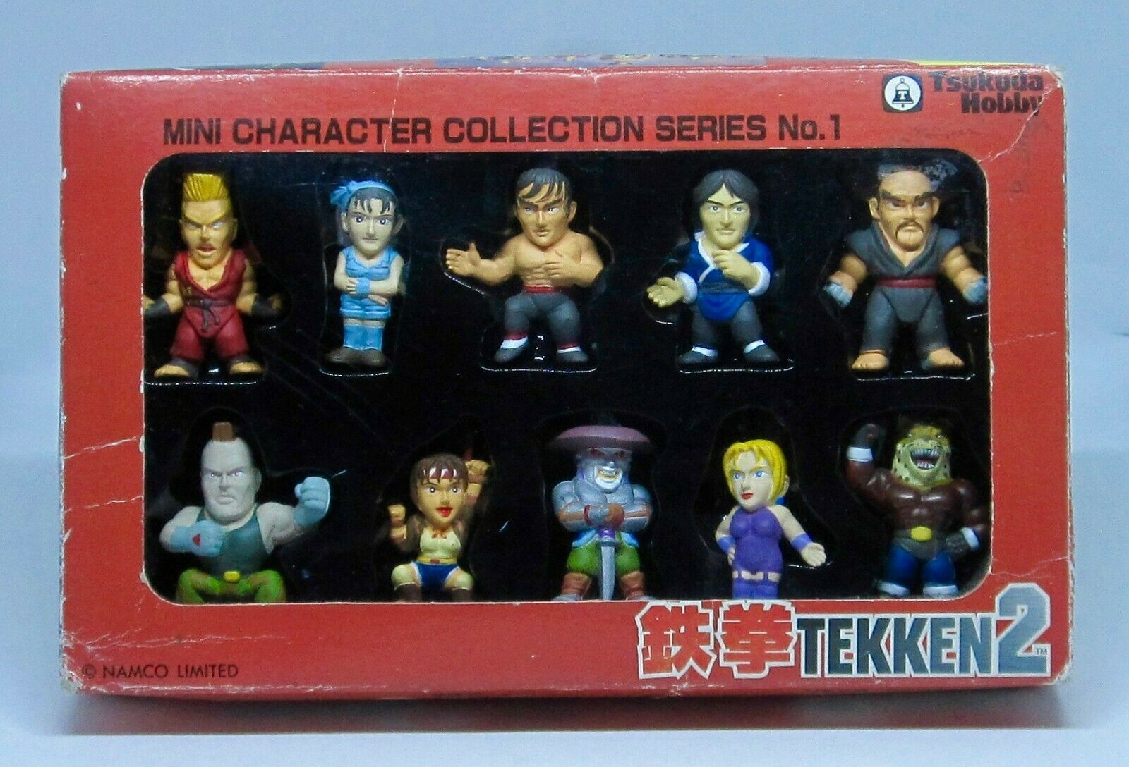 Tekken 2 MINI CHARACTER COLLECTION SERIES No. 1 Tsukuda Hobby Figures