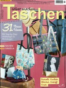 Patchwork Magazin 212018 Taschen Selber Machen 31 Neue Ideen Nähen