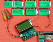 2016 DIY Mega328 transistor tester LCR ESR meter frequency PWM square wave gener