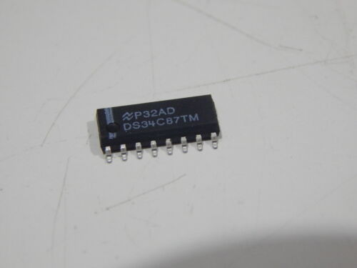 NAT DS34C87TM Quad Transmitter RS-422 16-Pin SOIC USA SELLER FAST SHIPPING