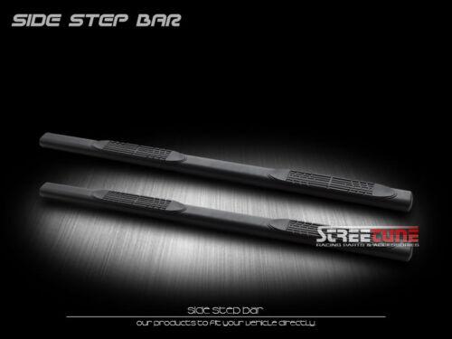 "For 99-16 Ford F250 F350 Super//Ext Cab 4/"" Matte Black Oval Side Step Bars Boards"