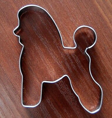 8cm high x 9cm wide TERRIER DOG COOKIE CUTTER