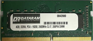 DATARAM 480GB 2.5 SSD Drive Solid State Drive Compatible with GIGABYTE P57W