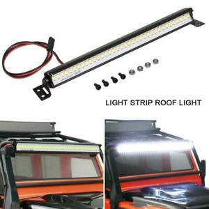 Super Bright LED Light Bar Roof Lamp Accessories for Traxxas TRX4 SCX10 RC Crawl