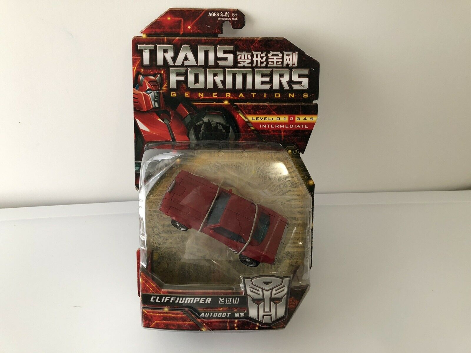 Transformers Generations GDO Cliffjumper Deluxe Class NEUF