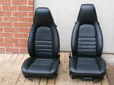 PORSCHE 944 911 951 964 968 85-94 SEAT KIT 100% LEATHER UPHOLSTERY BEAUTIFUL