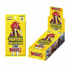 CARDFIGHT VANGUARD FIGHTERS COLLECTION 2016 - SEALED BOOSTER BOX G-FC03 10 PACKS