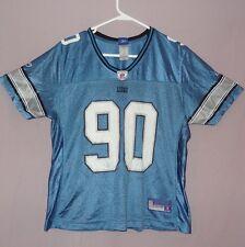 Reebok Women's NFL Jersey Lions Ndamukong Suh 90 Blue Size Large