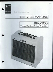 Details about Nice Copy Fender Bronco Tweed Series Guitar Amplifier on