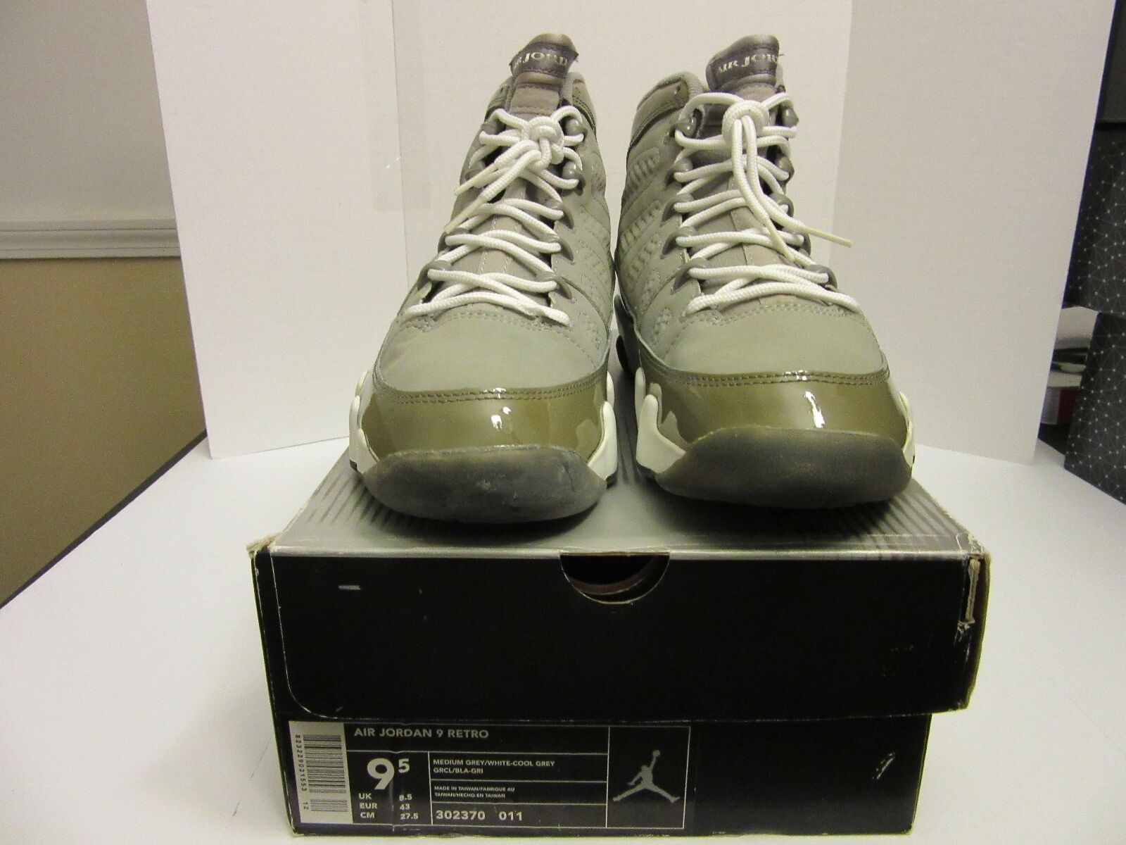 RETRO RETRO RETRO AIR JORDAN 9 COOL grigio (2002) 100% AUTHENTIC 6dbbf9