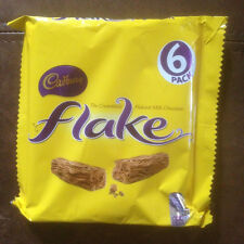 CADBURY FLAKE 6 PACK 153g freshly purchased before shipping direct from the UK