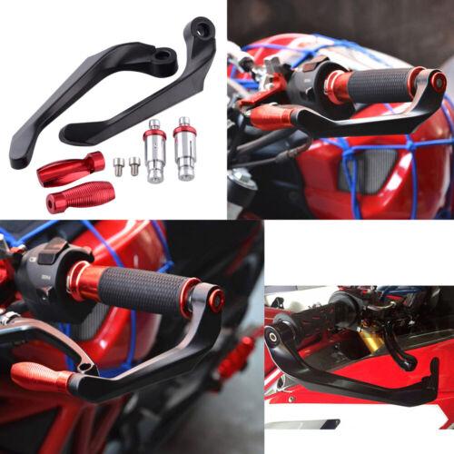 "Motorcycle Brake Clutch Lever Protector Guard Handguard 22MM 7//8/"" Street Bike"