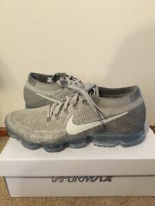 0de3ebf52f237 Nike Air Vapormax Flyknit Pale Grey Sail Size 13 Mens DS New ...