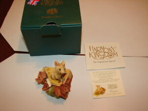 1-HARMONY-KINGDOM-Treasure-Jests-Gruyere-MOUSE-Made-In-UK-New-In-Box