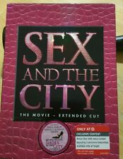 Sex and the City - The Movie (DVd Disc, 2008, 2-Disc Set, Extended Cut)(2402)new