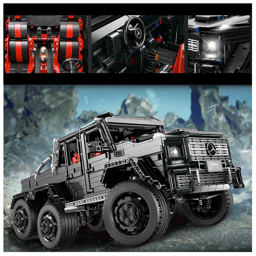 Eichhorn-Constructor utilitaires-Buggy Camion Véhicule Tout-terrain jouets en bois