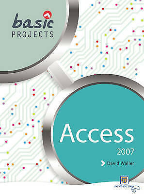 1 of 1 - Very Good, Basic Projects in Access 2007 (Basic Projects), , Book
