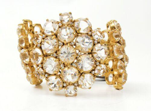 J CrewCrystal Cluster Bracelet