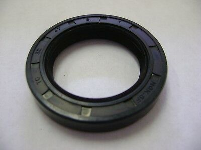 NEW TC 32X47X8 DOUBLE LIPS METRIC OIL DUST SEAL 32mm X 47mm X 8mm