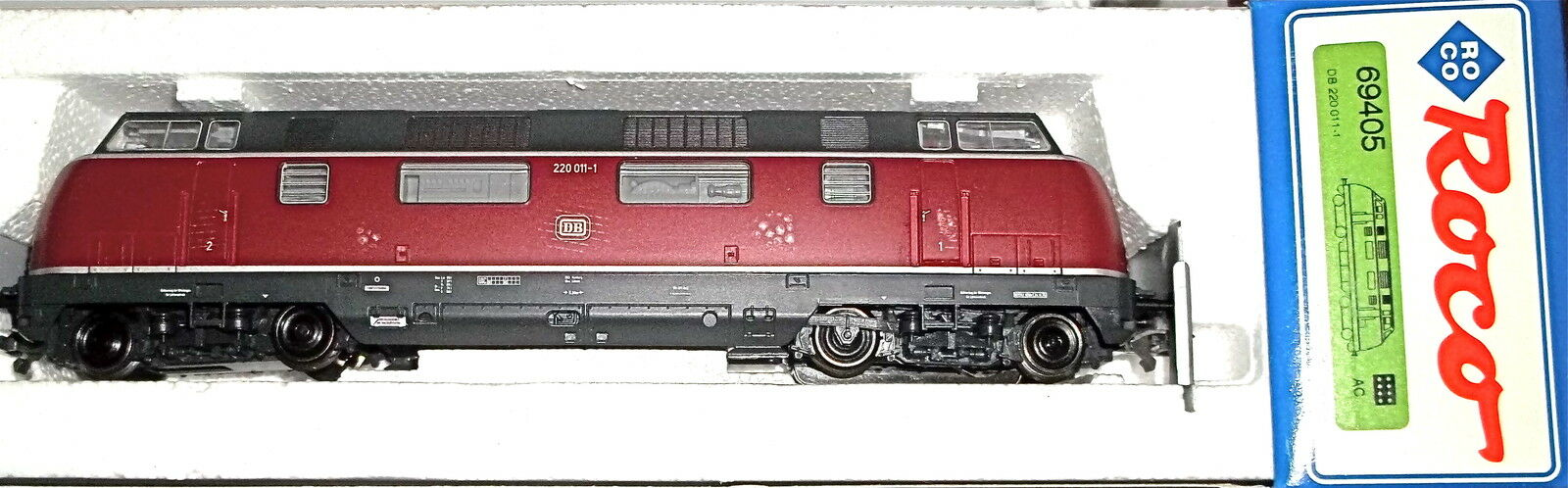 220 011 1 Diesel Locomotive DB DIGITAL for Märklin AC Roco