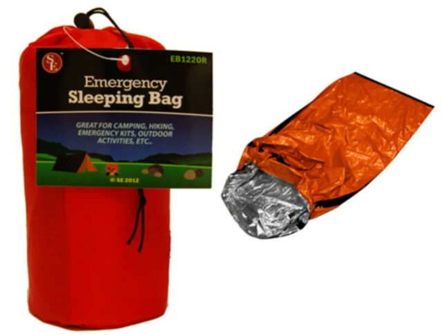 "40  Emergency Aluminized Sleeping Bag Camping Outdoor Survival  84""x36"""