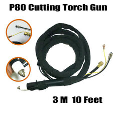 P-80 Air Plasma Cutting Cutter Torch Complete 15 feet Cable 3M Euro Central