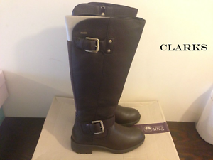 Uk Waterproof Hi £170 4 Gtx Brown Dark Clarks Reunite Rrp Leather Women's Boots 0ZTwczqa