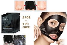 6 PCS Facial Peel off Mask Blackhead Remover Face   Deep Black Pore Strip