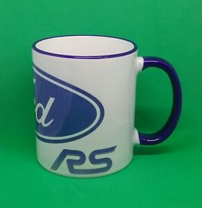 Image Is Loading Ford Focus RS Coffee Mug Mechanic Motor Rallying