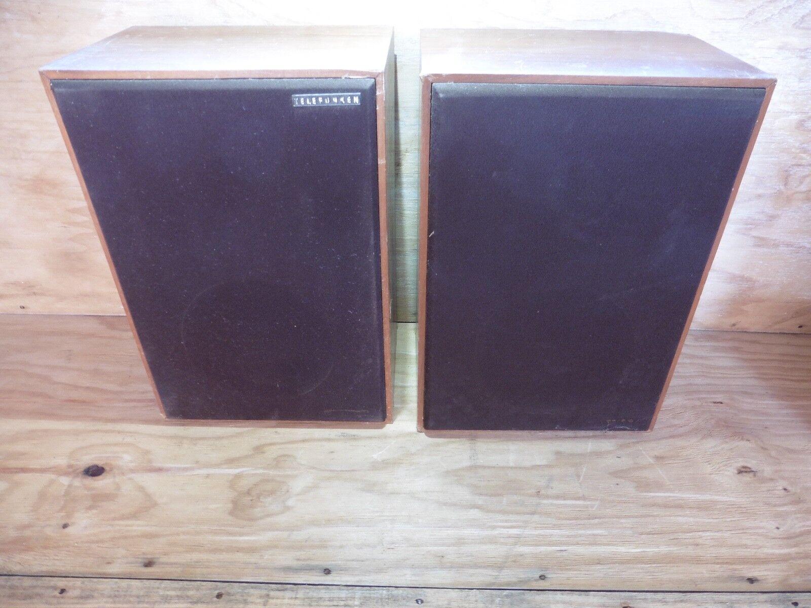 TELEFUNKEN L 5600 Paar Lautsprecher verkauft in L'Etat   HI FI