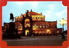 Staatsoper Dresden , Semperoper  , Ansichtskarte