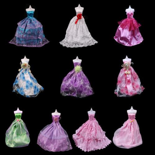 Fashion handmake Wedding Dress Fashion Clothing Gown For  doll  K0