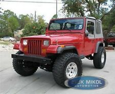 Gray Replacement Soft Top Upper Skins For 87 95 Jeep Wrangler Yj Tinted Windows Fits 1994 Jeep Wrangler