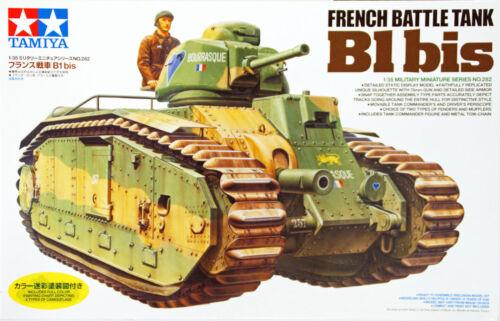 Tamiya 35282 French Battle Tank Char B1 bis 1//35 scale kit