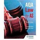AQA Law for AS by Denis Lancer, Jacqueline Martin (Paperback, 2015)