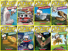 NEW! FLY GUY PRESENTS by Tedd Arnold LEVEL 2 Collection of 8 Paperback Stories!