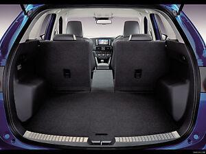 mazda cx 5 rear inner trunk trim stainless steel 2013 2018 4621099 ebay. Black Bedroom Furniture Sets. Home Design Ideas