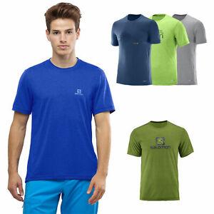 Details zu Salomon Explore Graphic Tee Herren Shirt Funktionsshirt Training Sportshirt NEU liCRt