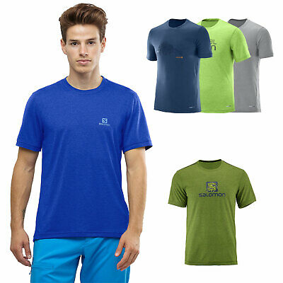 Salomon explore Graphic Tee Mens Shirt Functional Shirt Training Sport Shirt NEW | eBay