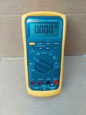Fluke 87 V True Rms Multimeter With Leads Good Condition Fast Shipping
