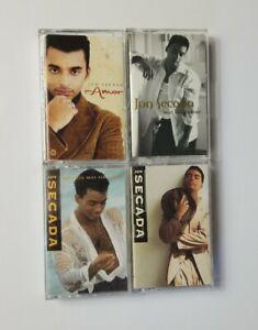 Jon-Secada-Cassette-Lot-of-4-Titles-SEE-DESCRIPTION-For-Titles