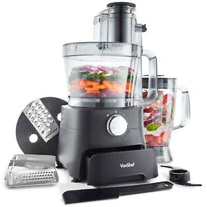 VonShef-1000W-Food-Processor-Blender-Chopper-Juicer-Dough-Blade-Shredder