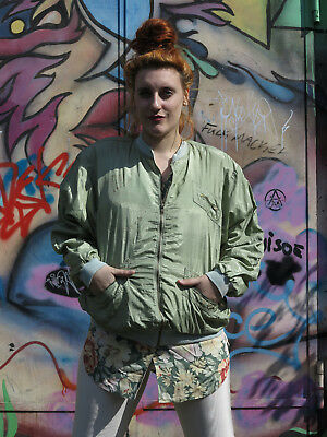 Liberta Giubbotto Giacca Bomber Giacca Vento Giacca Militare 90er True Vintage 90s Jacket-mostra Il Titolo Originale Sii Amichevole In Uso