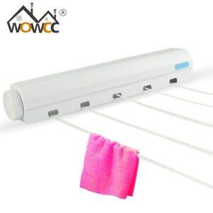 New Instahanger Wall Hanger Indoor Drying Rack Rail H Coat Dryer Away Fold T1E0