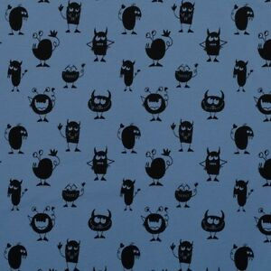 Monster-Jersey-Rauchblau-Swafing