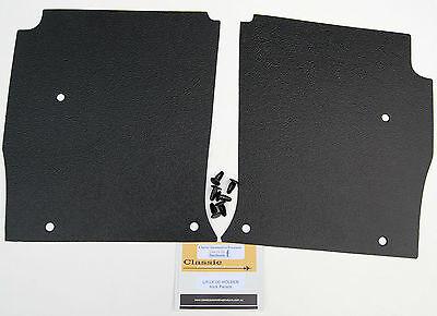 Holden Torana LH-LX-UC parcel shelf /& kick panels NEW. Black long grain vinyl