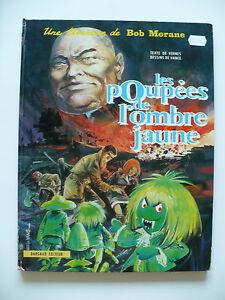 EO-bel-etat-Bob-Morane-11-les-poupees-de-l-039-Ombre-jaune-1970-Forton-Vernes