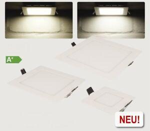 3x-LED-PANEL-30x30cm-ULTRASLIM-Deckenlape-Einbauleuchte-Deckenleuchte