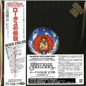 SANTANA-LOTUS-JAPAN-3-7INCH-MINI-LP-SACD-HYBRID-Ltd-Ed-U00