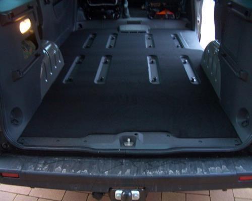 Kofferraummatte Gastraum Teppich Fußmatten Nissan NV300 NV 300 L2 Kombi lang